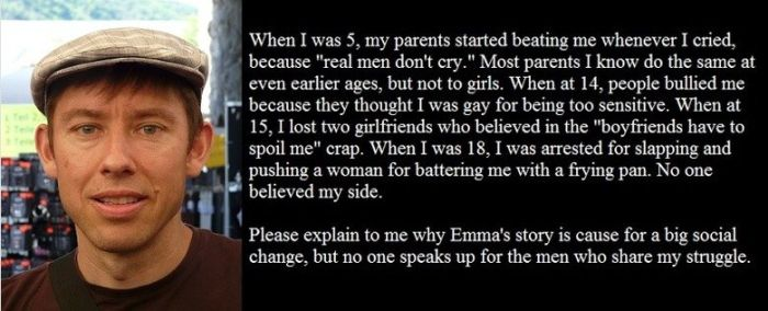 Guy Uses An Emma Watson Quote To Prove A Point About Perspective