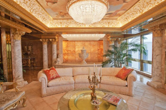 The Inside Of Donald Trump's Apartment Is A Very Strange Place