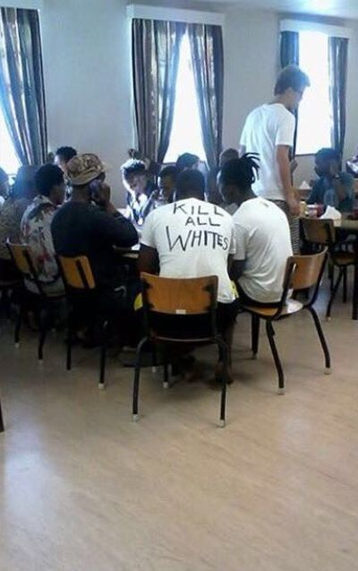 Racist Shirt At The University Of Cape Town