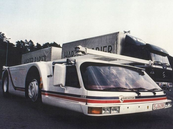 The Steinwinter Supercargo Is Unlike Any Vehicle You've Ever Seen