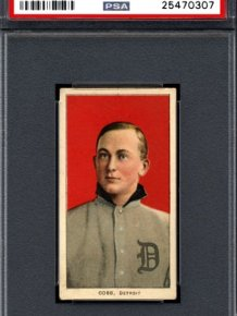 Man Discovers Rare Ty Cobb Baseball Cards In His Great Grandfather's Collection