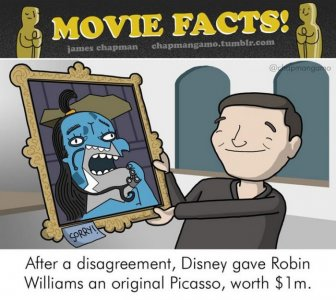Awesome Illustrations Reveal Surprising Behind The Scenes Movie Facts