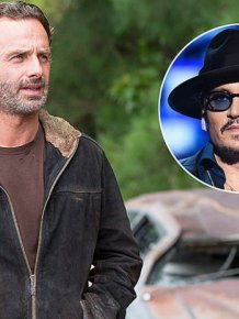 Johnny Depp's Head Made A Surprise Cameo On The Walking Dead Sunday Night