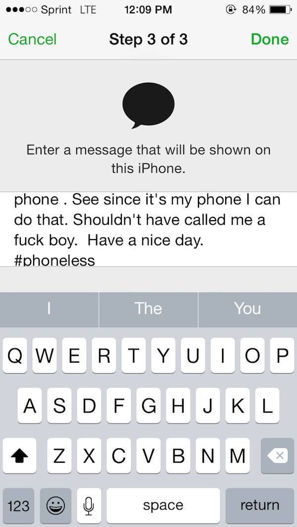 Girl Gets Put In Her Place After Trying To Steal Her Ex Boyfriend's Phone