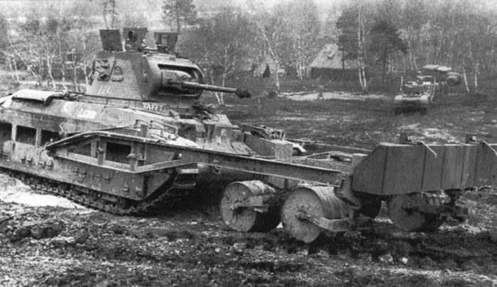 Tanks That Took On The Minefields