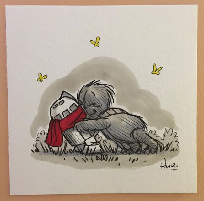Winnie The Pooh Looks Awesome In The Style Of Star Wars