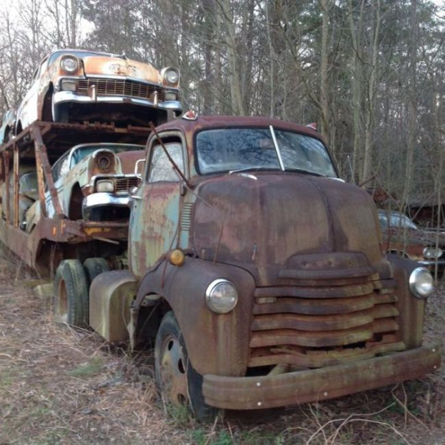 It's Sad To See This Classic Chevy Just Wasting Away