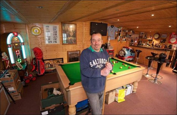 The Ultimate Man Cave Is Hidden In A Random House In Bristol