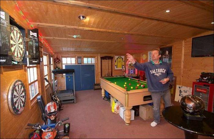 The Ultimate Man Cave Is Hidden In A Random House In