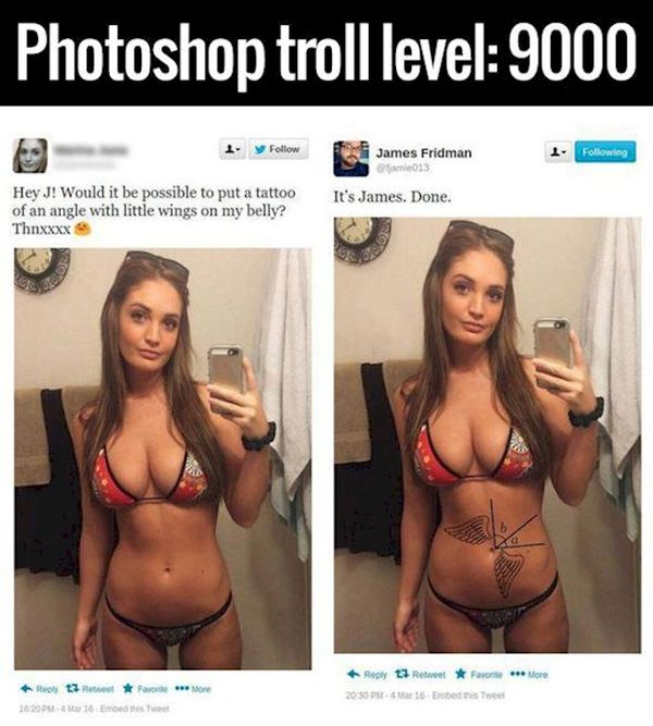Photoshop Trolls Are The Most Powerful Trolls There Are