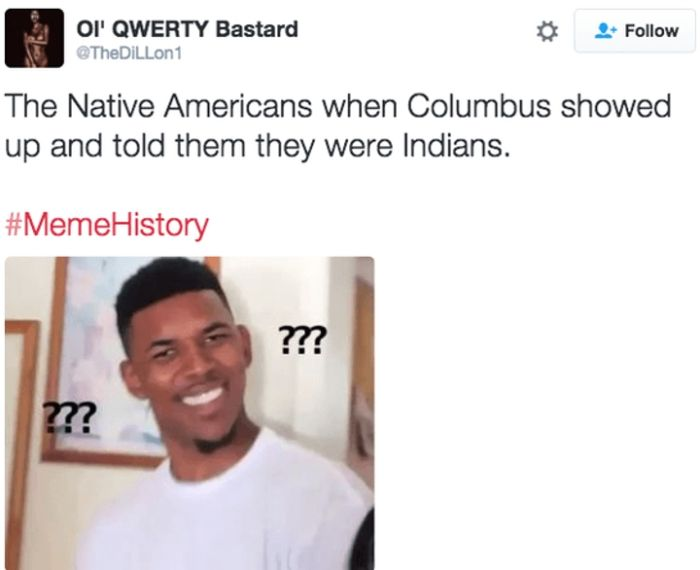 the world wasnt ready for meme history 2 the world wasn't ready for meme history others,History Memes Twitter
