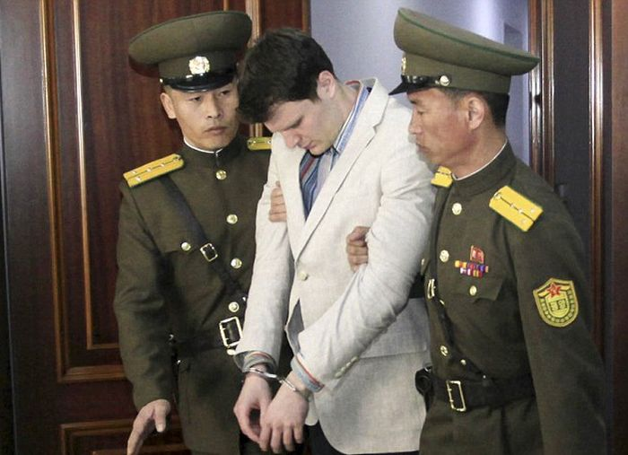 American Student Sentenced To 15 Years Hard Labor In A North Korean Prison