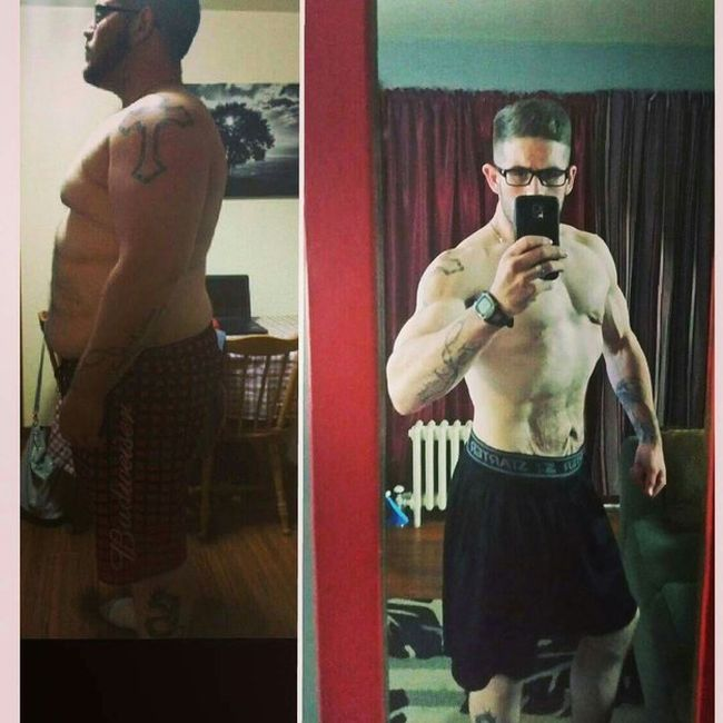 Nova Scotian Man Loses 183 Pounds And Completely Transforms His Body