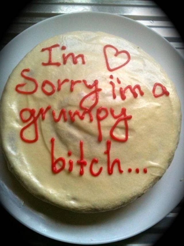 A Cake Is Always A Great Way To Get Your Message Across