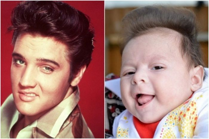 Babies Who Happen To Share Faces With Famous Celebrities