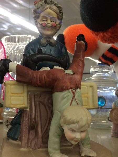 Really Random Thrift Shop Items That Just Can't Be Explained