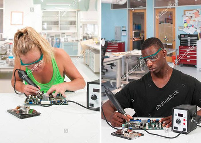 Somebody Noticed That These Stock Photos Are Epic Fails