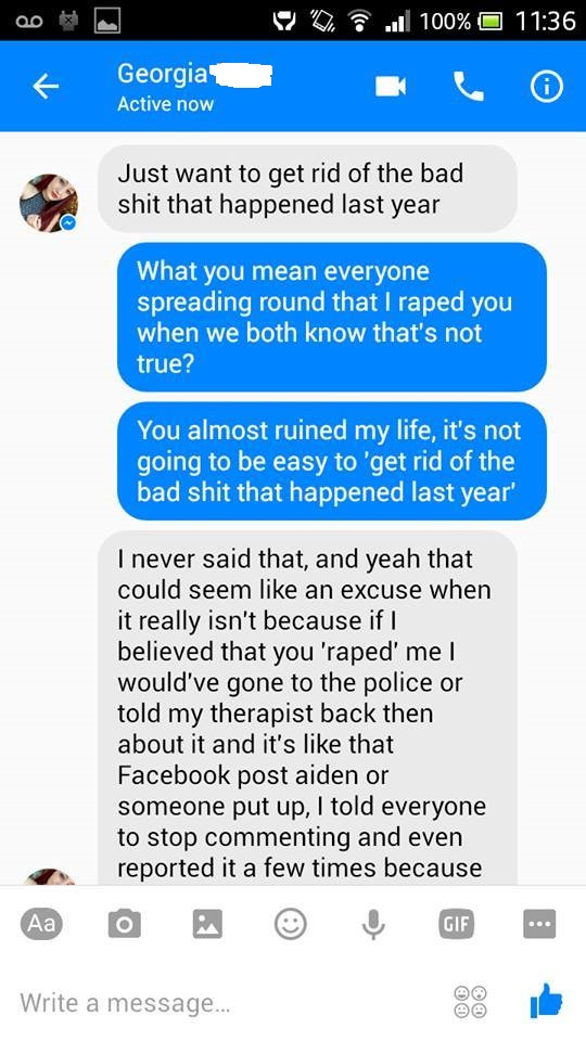 Guy Finally Gets Lying Girl To Admit That She Falsely Accused Him Of Rape