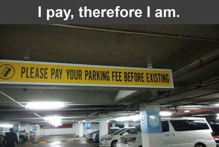 Strange And Hilarious Signs That Will Either Scare You Or Make You Laugh