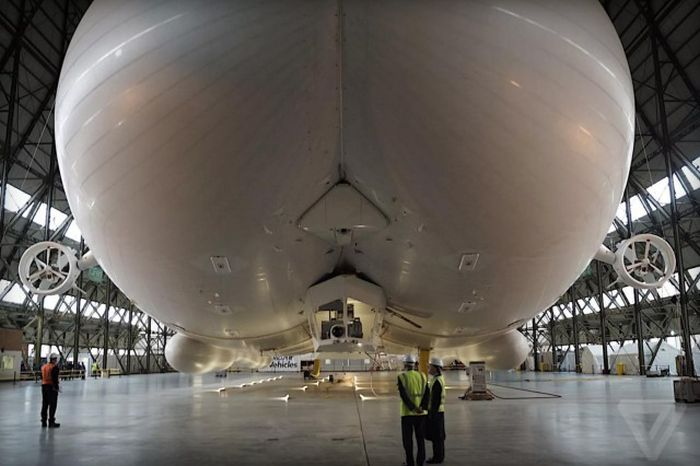 The Airlander 10 Is Getting Ready To Soar Through The Skies
