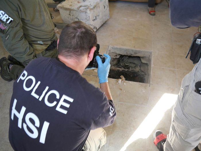 Authorities Discover A Drug Tunnel Stretching From California To Mexico