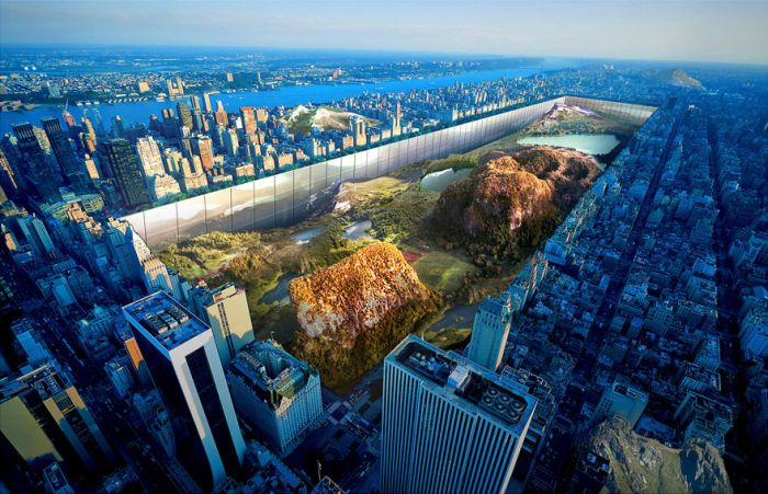 Two Designers Have A Crazy Idea That Would Completely Change Central Park
