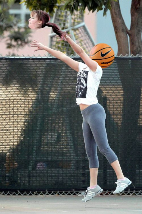 Jennifer Lawrence Gets Caught Up In A Photoshop Battle After An Innocent Basketball Game