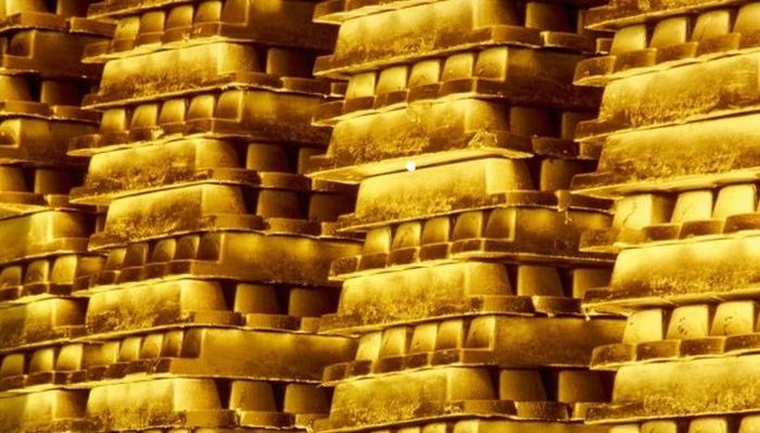 What $300 Billion Looks Like In Gold Bars
