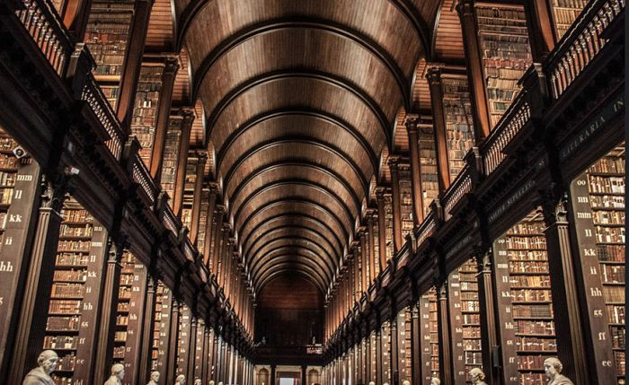 You Won't Believe How Many Books Are in This 300 Year Old Dublin Library