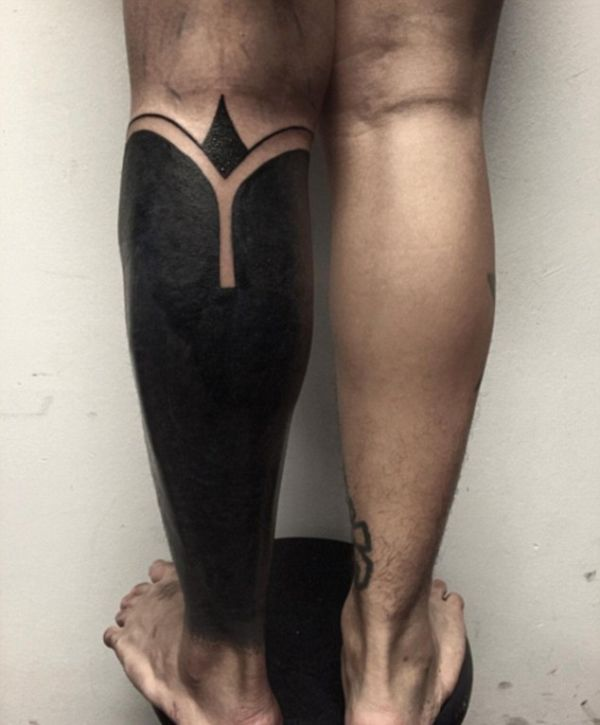 Blackout Tattoos Are Becoming A Big Trend In The Tattoo World