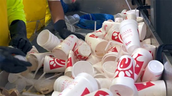 Chick-Fil-A Puts Their Plastic To Good Use By Turning It Into Park Benches