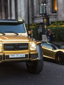 Britain Has An Anonymous Tourist With A Flashy Car Collection