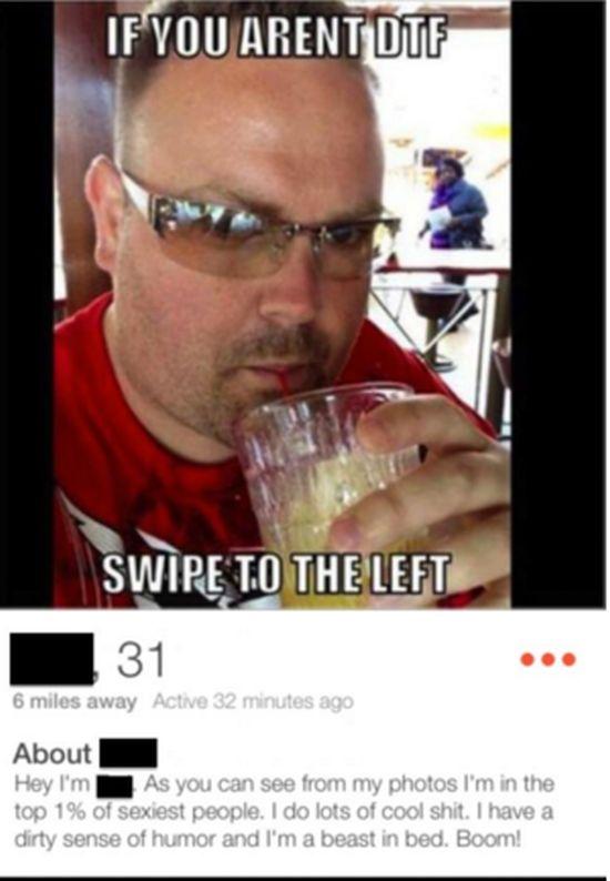 Crazy dating profiles