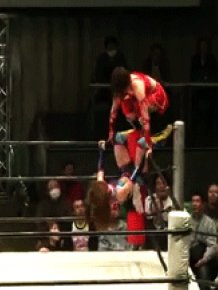 Japanese Wrestling Girls Like To Hit Hard