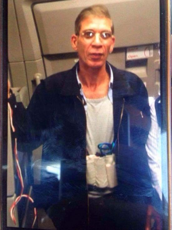 Passenger Snaps A Ridiculous Selfie With Hijacker Wearing A Suicide Vest