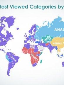PornHub Reveals What Women Around The World Are Searching For