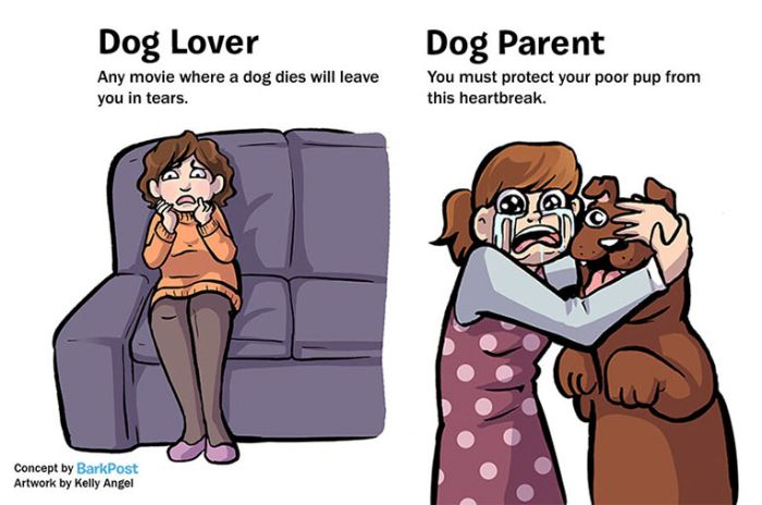7 Huge Differences That Separate Dog Lovers And Dog Parents