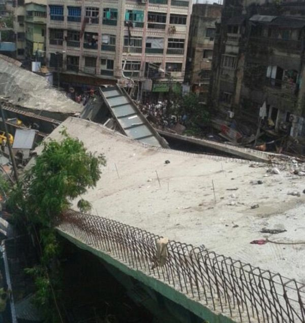 Overpass In India Collapses And Traps Over 150 People