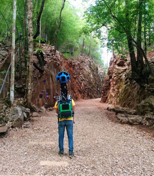 Street View Guy Walks 500 km To Capture Thailand's Most Beautiful Areas