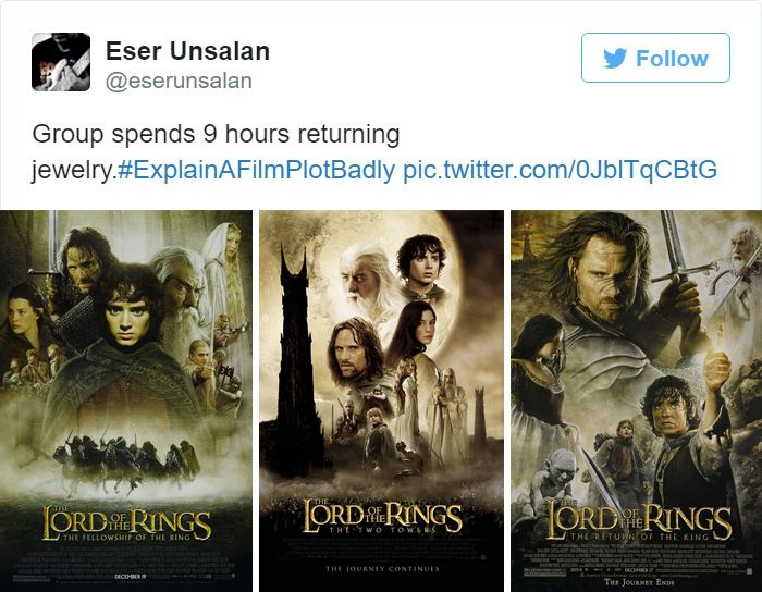 Twitter Did A Great Job Of Explaining Film Plots Badly