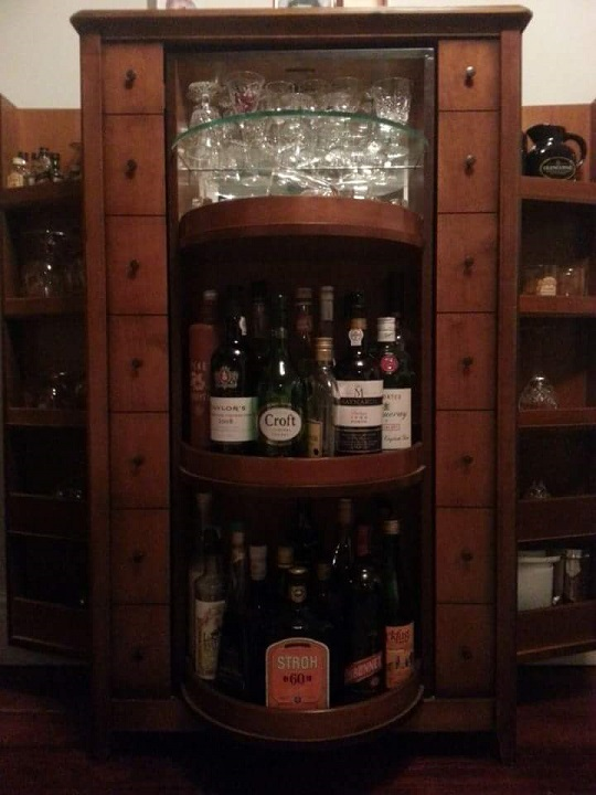 There's A Special Surprise Inside This Cabinet