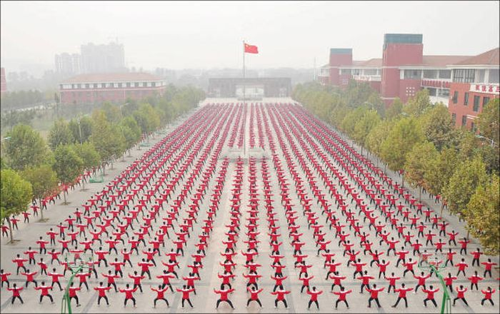 China Is Really Good At Putting Together Public Gatherings