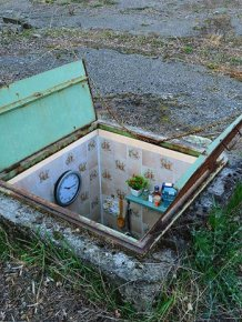 Artist Creates Secret Rooms In Abandoned Manholes In Milan
