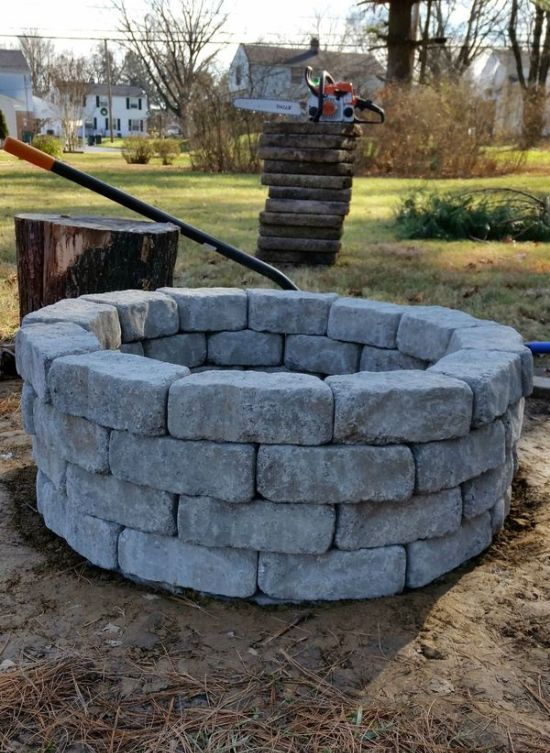 How To Build A DIY Fire Pit In Your Own Backyard