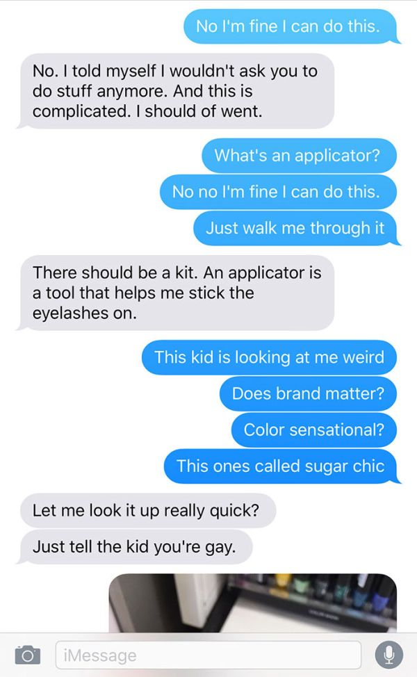 Girl Makes A Terrible Mistake By Asking Her Boyfriend To Buy Makeup