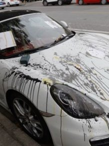 Porsche Gets Trashed When Locals Find It In The Wrong Spot