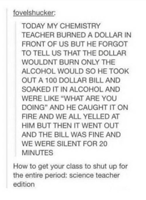 Awesome Things We Would All Do If We Were Teachers