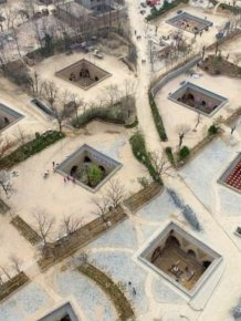 Chinese Residents Build Homes In An Interesting Place