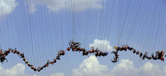 Rope Jumping Group Sets New World Record In Brazil