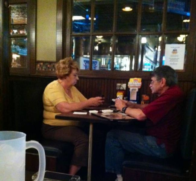 Proof That Young People Aren't The Only Ones Addicted To Technology